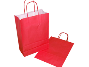 220mm Coloured Paper Bags
