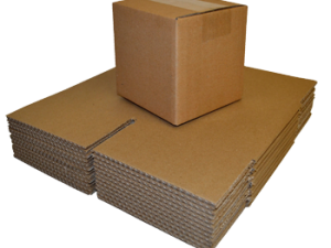 Brown Single Walled Boxes