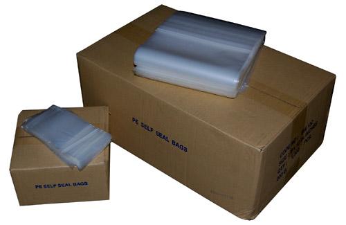 """Plain Polythene Grip Seal Bags 5.5 x 5.5""""-0"""