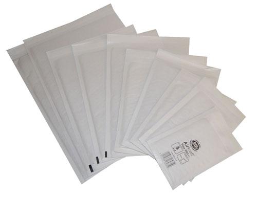 Jiffy AirKraft Mailers JL00 White 115mm x 195mm-0