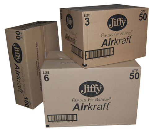 Jiffy AirKraft Mailers JL00 White 115mm x 195mm-583