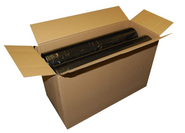 Hand Pallet Wrap Standard Core Black 500mm x 200m x 25mu-537