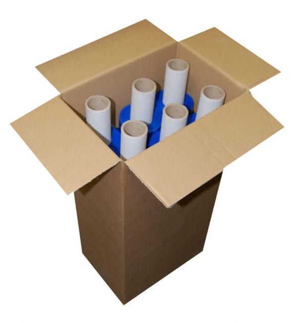 Hand Pallet Wrap Extended Core Blue 400mm x 200m x 20mu-533