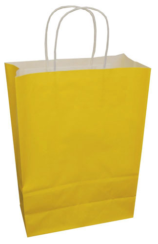 Paper Carrier Bags Sunflower 220 x 100 x 310mm-0
