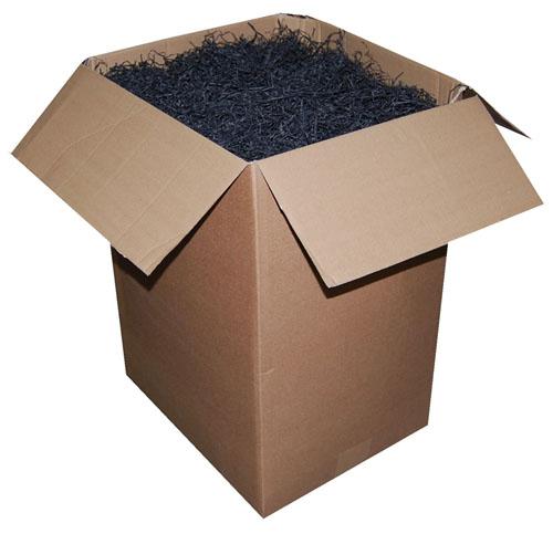Shredded Kraft Paper Black 1kg Bag-483