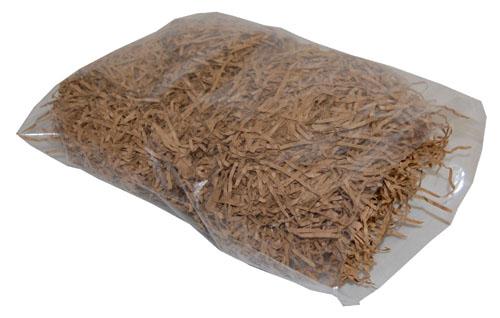 Shredded Kraft Paper Brown 1kg Bag-492