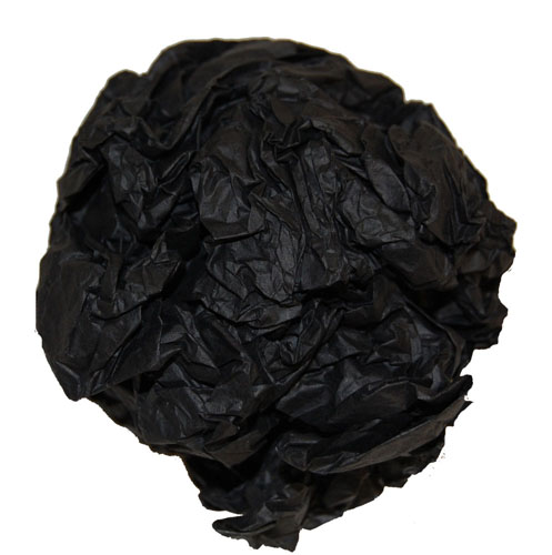 "Tissue Paper Sheets Black 20"" x 30""-736"