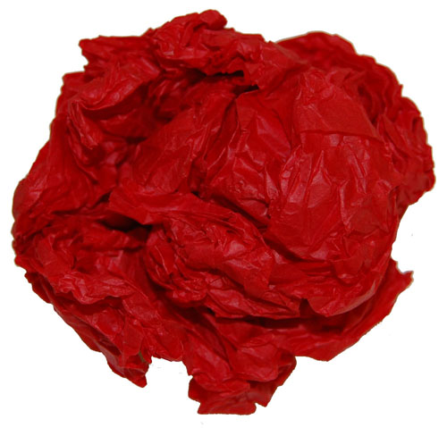 """Tissue Paper Sheets Red 20"""" x 30"""" -750"""