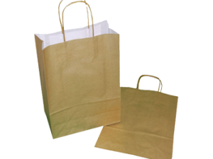 180mm Coloured Paper Bags