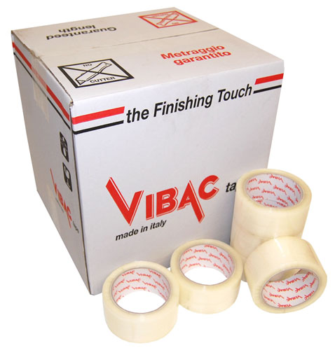 Hot Melt Tape Clear 48mm x 132m Vibac Code 425-0
