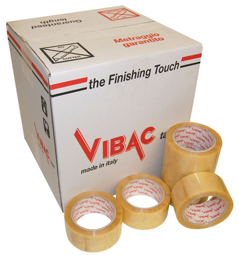 Solvent Tape Clear 48mm x 66m Vibac Code 700-0