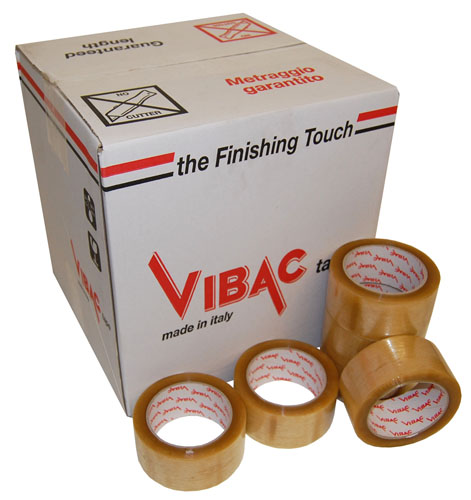 No Noise Tape Clear 48mm x 66m Vibac Code 830-0