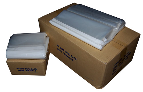 "Write On Panel Grip Seal Bags 8 x 11"" -0"