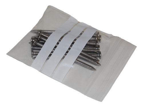 "Write On Panel Grip Seal Bags 4.5 x 4.5""-1551"