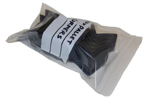 "Write On Panel Grip Seal Bags 9 x 12.75""-1574"