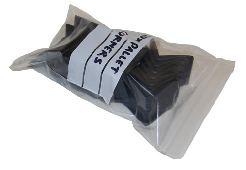 "Write On Panel Grip Seal Bags 5.5 x 5.5""-1556"