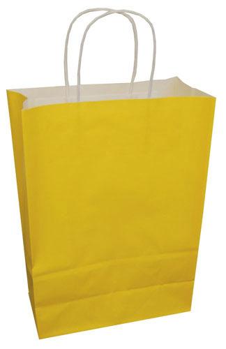 Paper Carrier Bags Sunflower 180 x 80 x 220mm-0