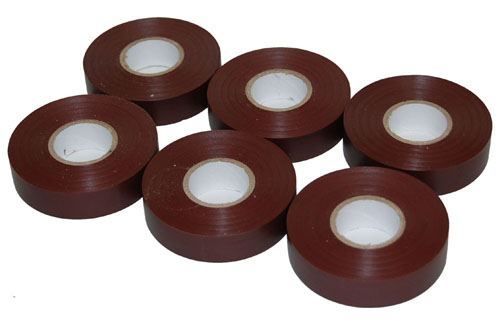 PVC Electrical Tape Brown 19mm x 33m-0