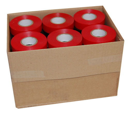 PVC Electrical Tape Red 19mm x 33m-943