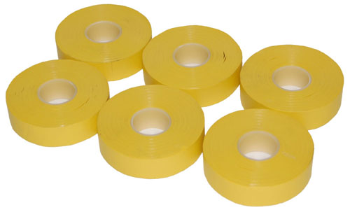 PVC Electrical Tape Yellow 19mm x 33m-0