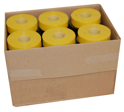 PVC Electrical Tape Yellow 19mm x 33m-953
