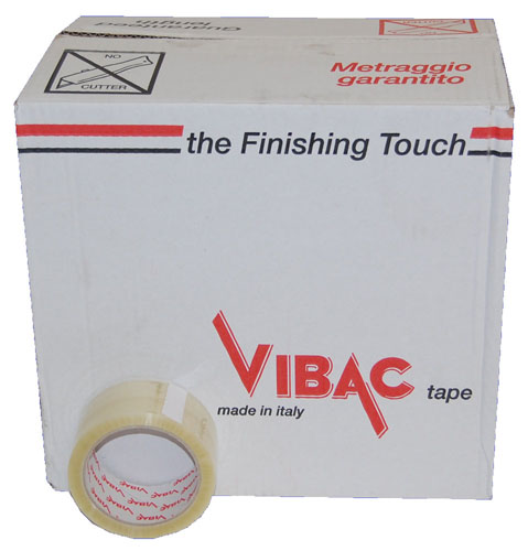 Solvent Tape Clear 48mm x 66m Vibac Code 700-929