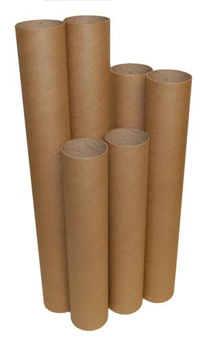 Postal Tubes Brown 76mm x 2mm x 300mm-1157