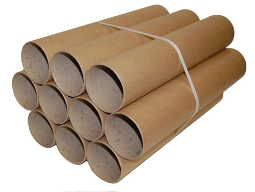 Postal Tubes Brown 76mm x 2mm x 400mm-1162