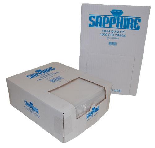 "Polythene Bags 500 Gauge 10"" x 15""-0"