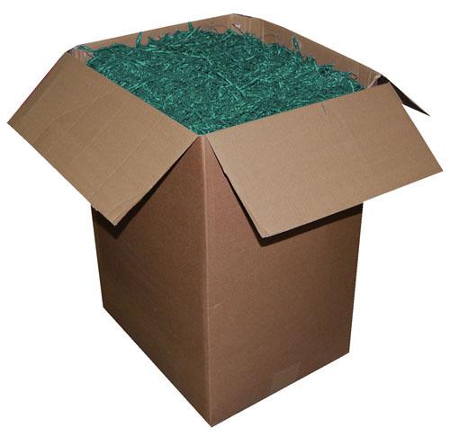 Shredded Kraft Paper Spruce Green 1kg Bag-1692