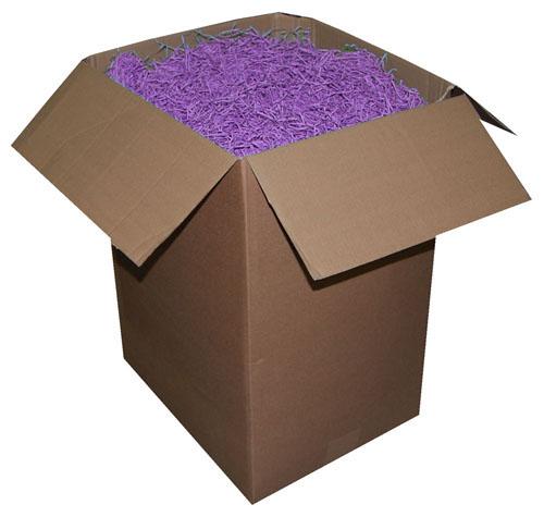 Shredded Kraft Paper Lilac 1kg Bag-1892