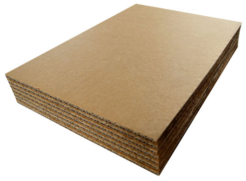 Cardboard Sheets 297mm x 210mm A4 Double Wall-0