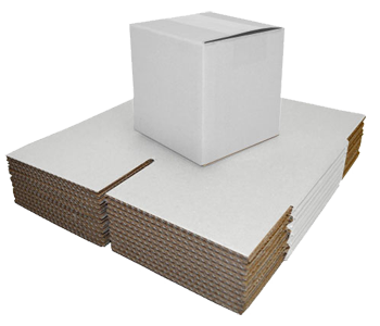 White Single Walled Boxes