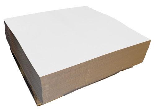 White Cardboard Sheets 297mm x 210mm A4 Single Wall-2194