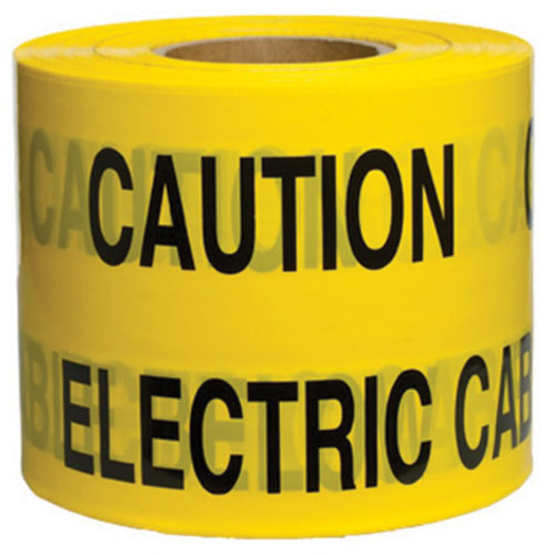 Warning Tape Electric Cable 150mm x 365m-0