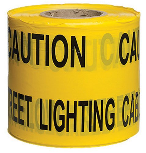 Warning Tape Lighting Cable 150mm x 365m-0