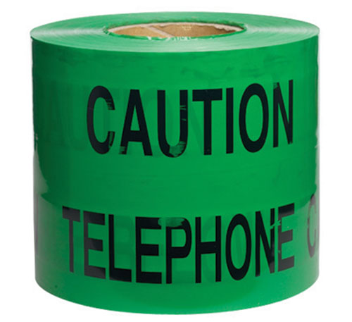 Warning Tape Telephone 150mm x 365m-0
