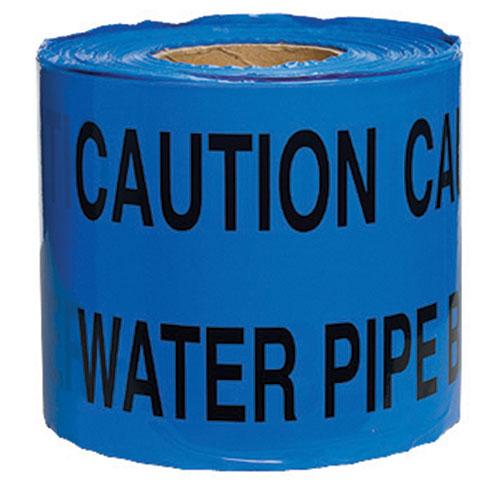 Warning Tape Water Pipe 150mm x 365m-0