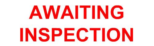 Warning Tape Awaiting Inspection 48mm x 66m-0