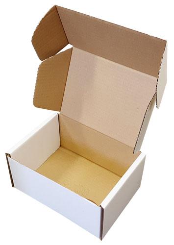 "Die Cut Boxes White 203 x 152 x 102mm (8 x 6 x 4"") DC40-3912"