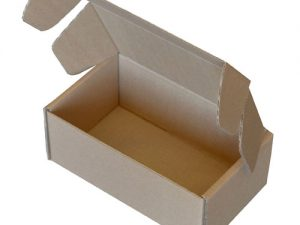 Die Cut Boxes Brown 254 x 152 x 102mm (10 x 6 x 4″) DC41