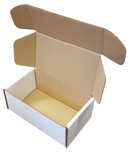 "Die Cut Boxes White 254 x 152 x 102mm (10 x 6 x 4"") DC41-3913"