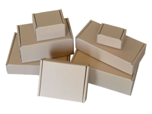 Brown Die Cut Boxes