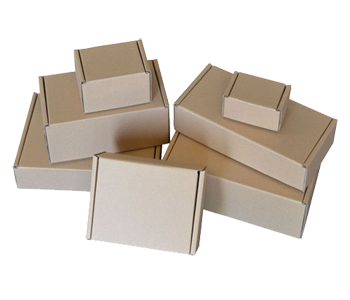 Brown Die Cut Postal Boxes