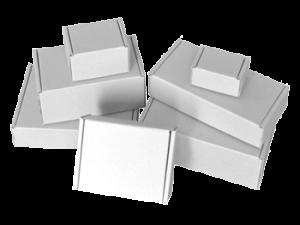 White Die Cut Boxes
