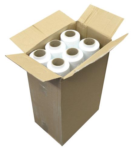 Hand Pallet Wrap Standard Core White 500mm x 200m x 23mu-2536