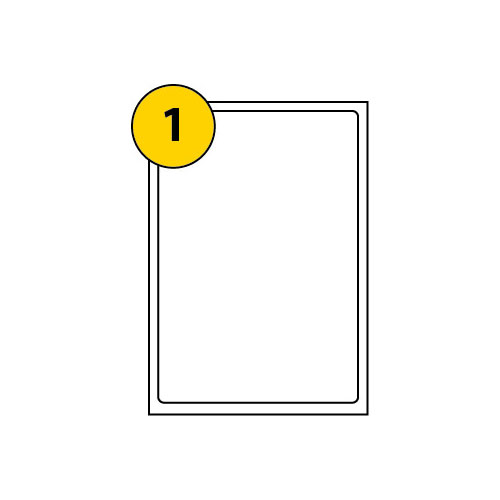 Label Sheets 199.6mm x 289.1mm-2973