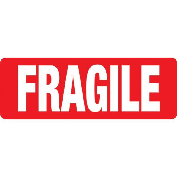 FRAGILE Labels 89mm x 32mm-0