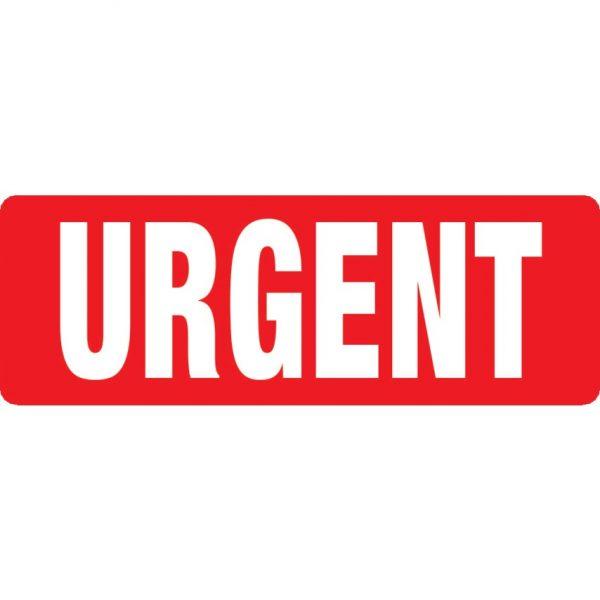 URGENT Labels 89mm x 32mm-0