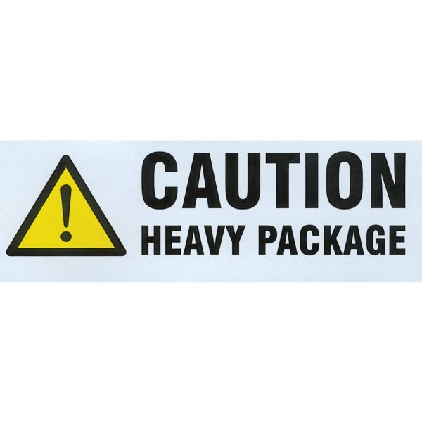 HEAVY PACKAGE Labels 148mm x 50mm-0